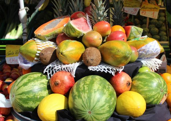 Nachhaltige Früchte