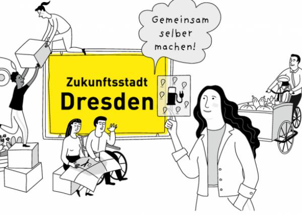 Sächsische Akteure vorgestellt: Zukunftsstadt Dresden