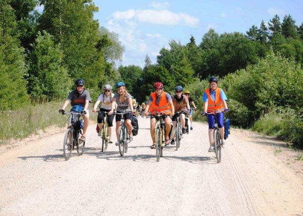 Kulturweit Alumni-Fahrradkarawane
