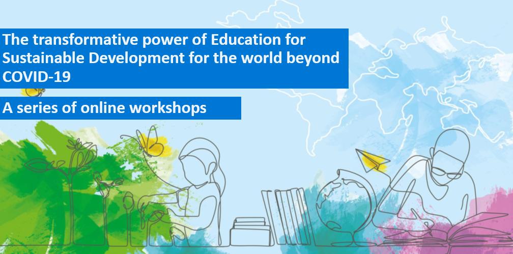 Online-Workshop-Reihe in Vorbereitung auf die UNESCO-Weltkonferenz zu BNE
