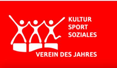 """""""Verein des Jahres 2020"""" gesucht!"""