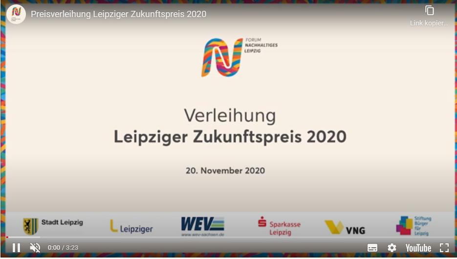 Vier Preisträger*innen-Projekte beim Leipziger Zukunftspreis