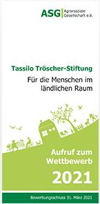Tassilo Tröscher – Jugendpreis für Projekte im ländlichen Raum