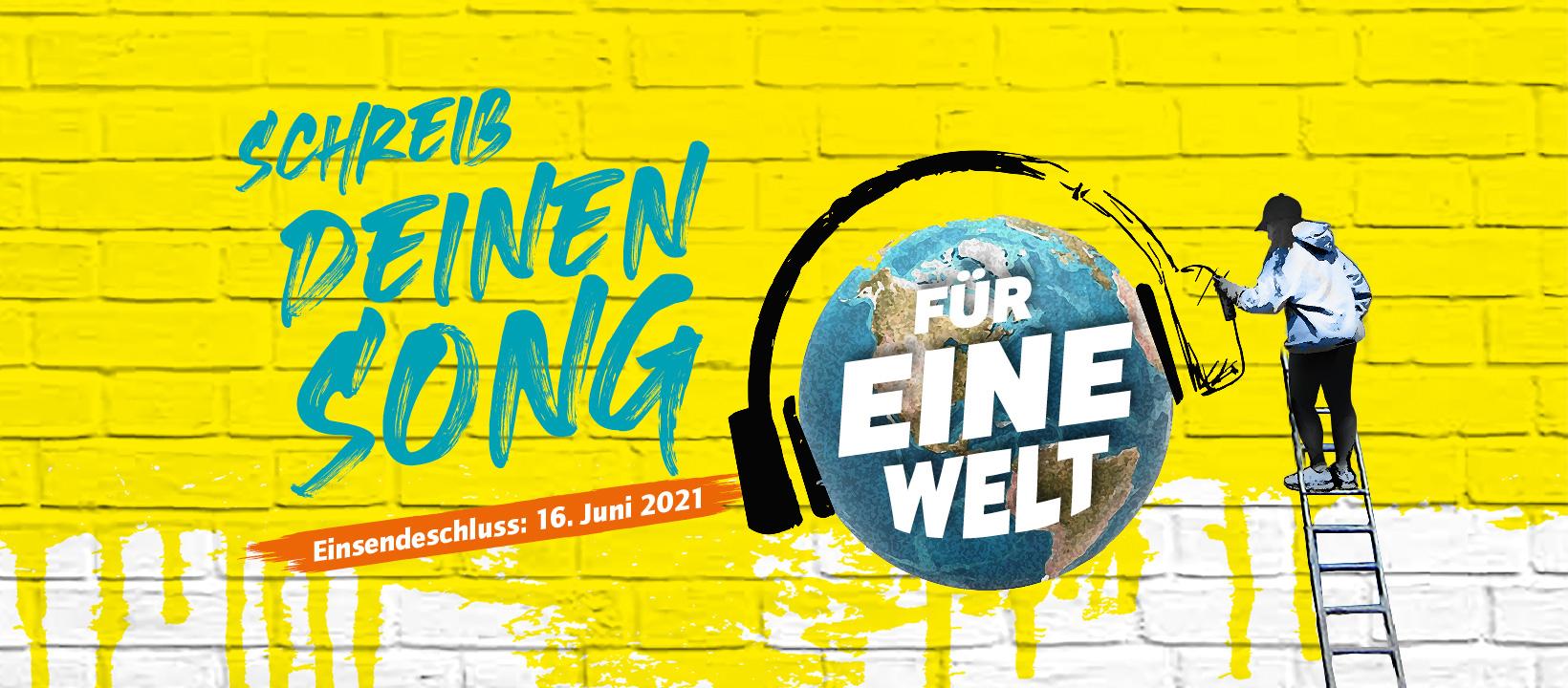 """Song Contest """"Dein Song für EINE WELT!"""""""
