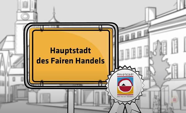 """Neue Wettbewerbsrunde """"Hauptstadt des Fairen Handels 2021"""" gestartet"""