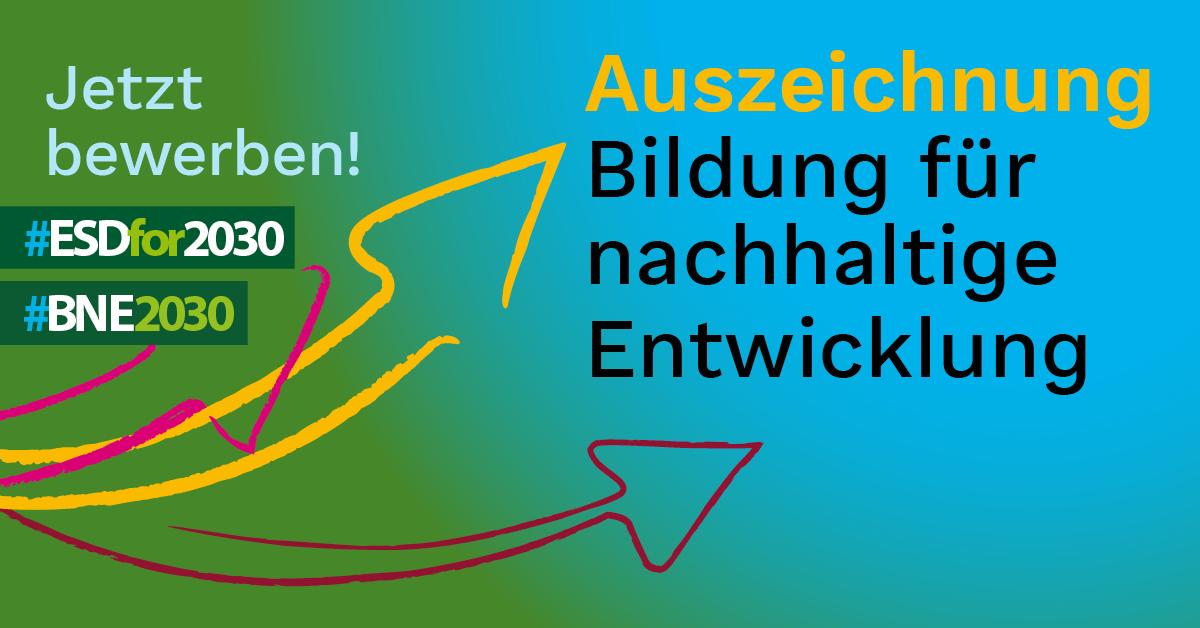 UNESCO und BMBF wollen BNE-Akteur*innen in Deutschland sichtbarer machen